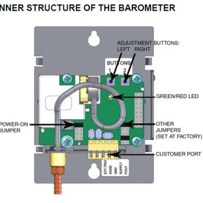 Vaisala PTB110 Inner Structure