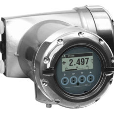 Honeywell Versaflow standard compact mount electronics in 316SS