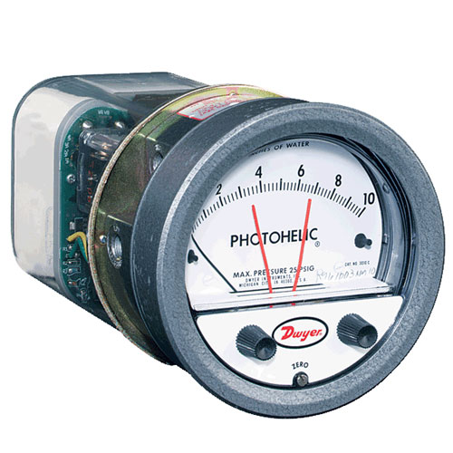 Dwyer A3000 Photohelic Switch/Gauge