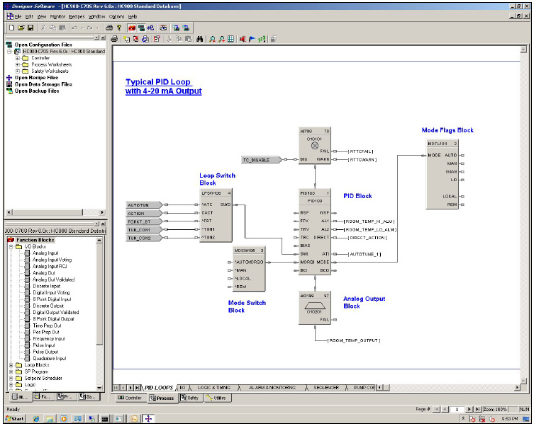 HC900 Typical Screenshot honeywell hc900 process control system  at virtualis.co