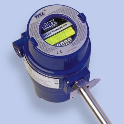 KURZ 454FTB Thermal Mass flowmeter electrical head