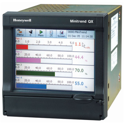Honeywell Minitrend QX Paperless recorder