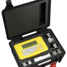 Micronics PF330 Ultrasonic clamp-on portable flowmeter with robust carry case