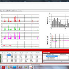 IMC Shocklog software screenhot