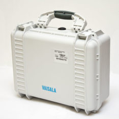 Rugged case for MI70 Series portable Vaisala meters