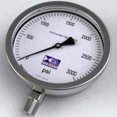 Stewart Buchanan 632 all stainless petro chemical pressure gauge