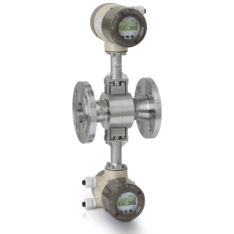 Honeywell Versaflow Vortex shedding flowmeter with redundancy