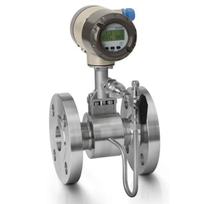 Honeywell Versaflow Vortex shedding flowmeter with pressure compensation and shut off valve