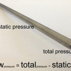 Dwyer 160 pitot tube pressure ports