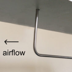 Dwyer 160 pitot tube direction of airflow