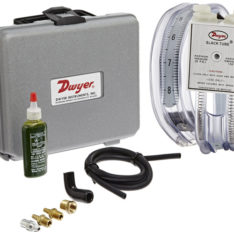 Dwyer Slcak tube manometer portable kit