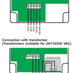Micatrone MF-PD and MF-P wiring