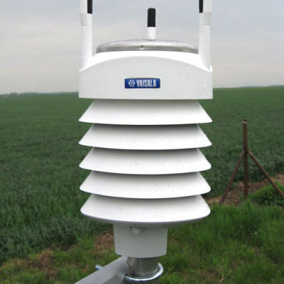 Vaisala WXT520 weather instrumentation in the field