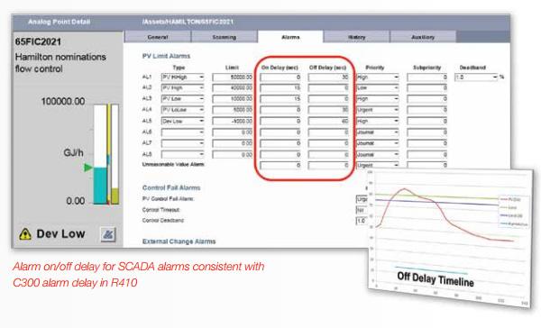 Area Alarm Panel >> Honeywell Experion HS SCADA