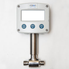 Nixon NT Turbine Flowmeter with F-series display
