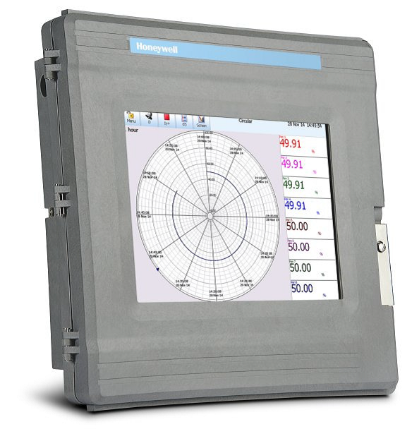 4 20ma Digital Chart Recorder : Honeywell dr circular paperless chart recorders