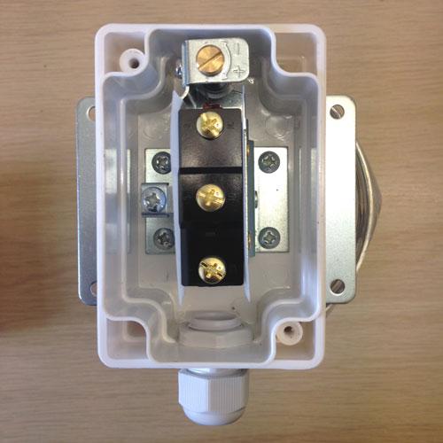 AAFS Air Flow Switch terminals