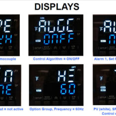 Honeywell EDC200 Displays