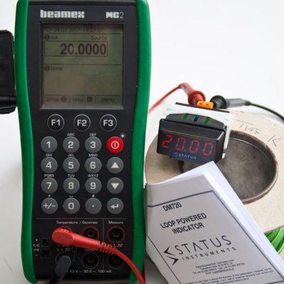 DM720 Loop powered 4-20mA input indicator