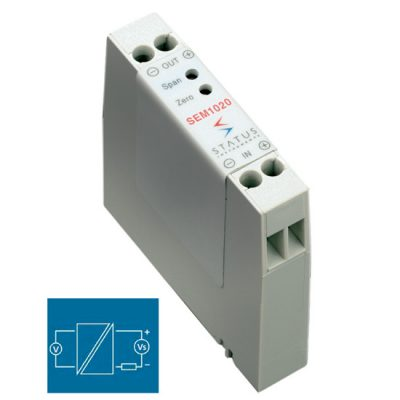 Status SEM1020 galvanic isolator