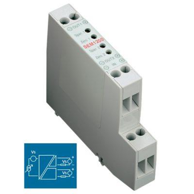 Status SEM1200 4-20mA isolating splitter