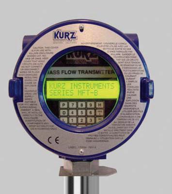 Kurz 504FTB Inline Flowmeter Head