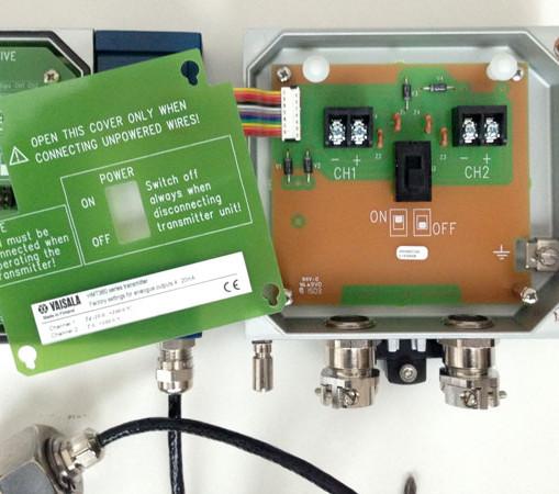 Vaisala HMT360, Simple 2 wire connection