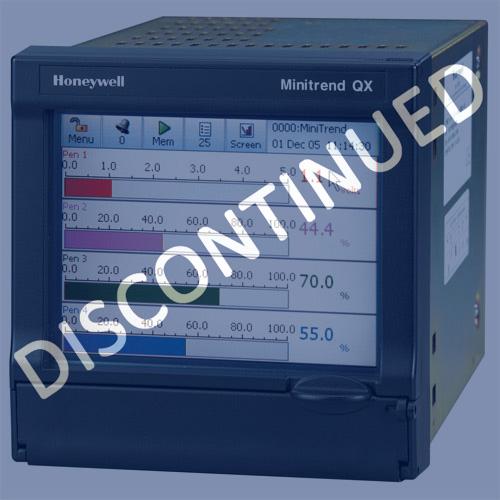 Honeywell MiniTrend Qx Recorder