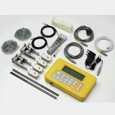 Micronics PF330 ultrasonic clamp-on flowmeter components