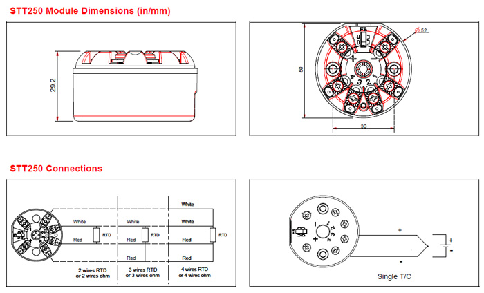 honeywell stt250 smart temperature transmitters