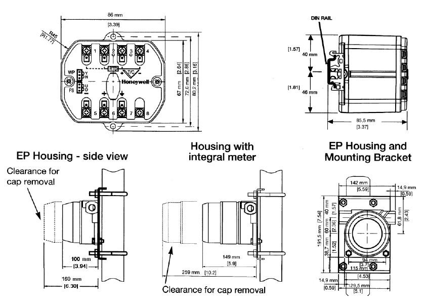 honeywell stt350 custody transfer smart temperature
