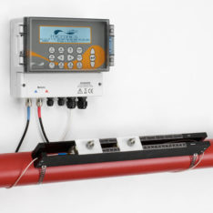 Micronics U3000 / U4000 Permanent/Fixed Clamp-on Flowmeter