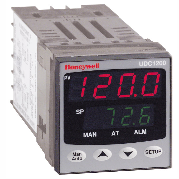 honeywell udc1200 micro pro universal digital controller rh fluidic ltd co uk Honeywell Programmable Thermostat Owner Manual Honeywell Thermostat Models Manual