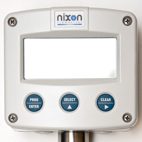 Nixon Flowmeter display and totaliser