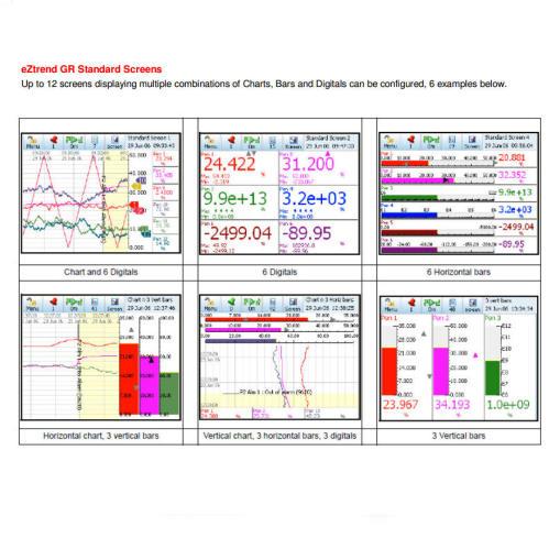 Honeywell eZtrend GR function screens