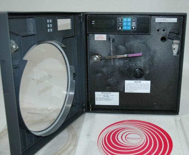 4 20ma Digital Chart Recorder : Honeywell dr circular chart recorder