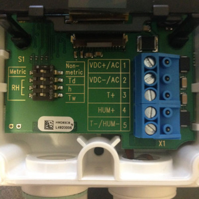 Vaisala HMW89D standard DIP settings