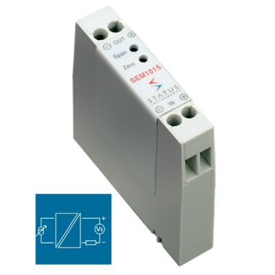 Status SEM1015 voltage/mA isolating signal converter