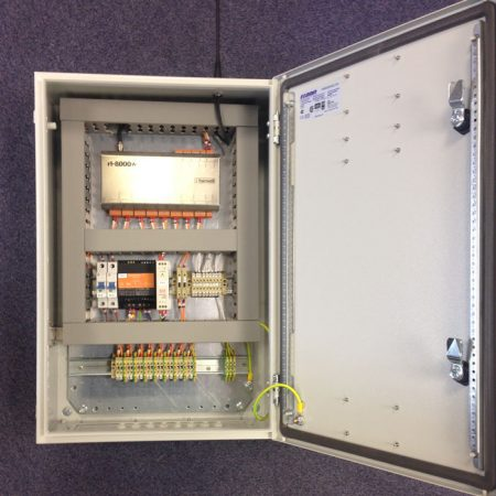 Hanwell RL8000 cabinet mounted