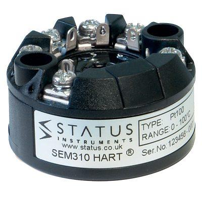 Status SEM310 MKII Temperature transmitter