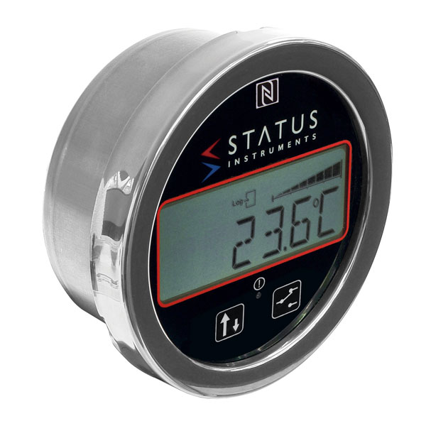 Status DM670/TM Battery Thermometer