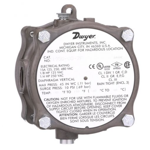Dwyer 1950 Differential Pressure Switch